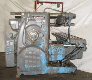 Kearney & Trecker Horizontal Milling Machine Model 530TF 20