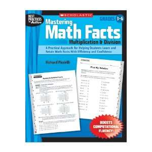 Quality value Mastering Math Facts Multiplication By