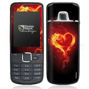 Design Skins for Nokia 2710   Flammenherz Design Folie