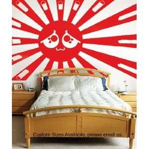 Vinyl Wall Decal Sticker Love for Japan CSJean105B
