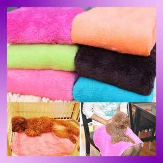 Superior Practical Coral Soft Warm Pet Puppy Dog Cat Fleece Blanket