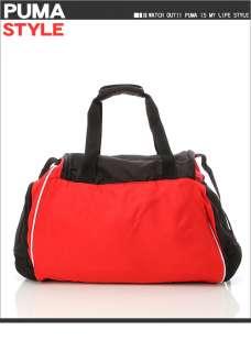 BN Puma Teamsport Medium Duffle Gym Bag Black/Red