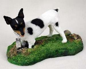 Terrier Statue Figurine Home & Garden Decor. Dog Products & Dog Gifts