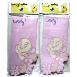 WB Looney Tunes Tweety Shaped Magnetic Notepads (2 Per