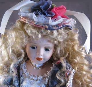 Collectible Bisque Porcelain Doll collectable |