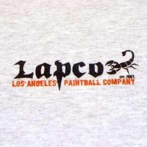 LAPCO Scorpion Logo T Shirt   Gray   Small:  Sports