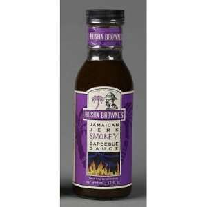 Brownes Smoky Jamaican Jerk Barbecue Sauce, 12oz.