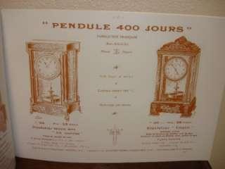 GRIVOLAS TORSION PENDULUM 400 DAY CLOCK MODEL #305 CRYSTAL REGULATOR