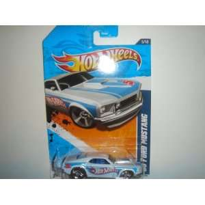 Wheels  Exclusive 69 Ford Mustang White #155/244 Toys & Games