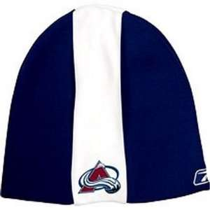 COLORADO AVALANCHE CENTER ICE KNIT BEANIE HAT TOQUE SKI CAP  CENTER
