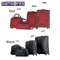 Samsonite Spinner 4 piece Lightweight Luggage Set