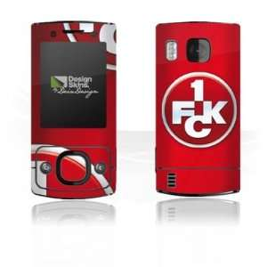 Design Skins for Nokia 6700 Slide   1. FCK Logo Design