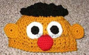 Boutique CUSTOM Crochet Sesame Street ERNIE Hat Beanie