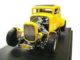 Graffitti Movie 1932 Ford Deuce Coupe 1/18 Diecast ModelCar yellow