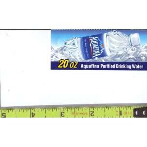 , Small Rectangle Size Aquafina Water BOTTLE Soda Vending Machine