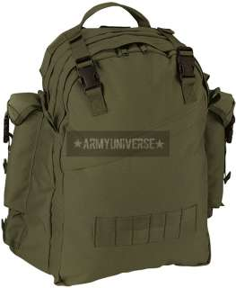Olive Drab Military Special Forces Tactical Assault Backpack (Item