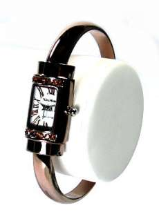 New Elegant Lady Crystals Bangle Watches b213u