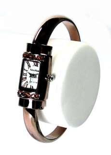 New Elegant Lady Crystals Bangle Watches b213u |