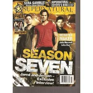SuperNatural Magazine (September October 2011) Various Books