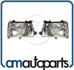 93 98 Toyota T100 Pickup Truck Headlights Headlamps Pair Set NEW