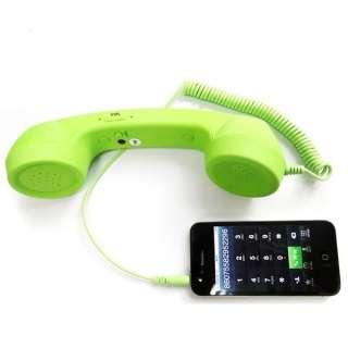 Mic Retro Fashion POP Phone Handset Tele Phone For iPhone4 4S 3G 3Gs