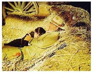 BIG JAKE color still JOHN WAYNE with Little Jake (l724)