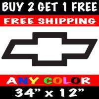 Chevy Bowtie HUGE Die cut Vinyl Decal Sticker Chevrolet