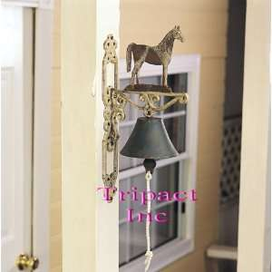 14 Metal Home Décor Horse Cast Iron Bell Home Improvement