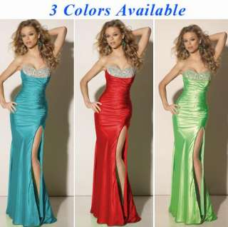 NWT Dress Sequins Strapless Prom Gown Evening Dress Long Formal Dress
