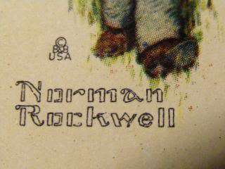 VINTAGE, SEALED NORMAN ROCKWELL PLAYING CARDS,TAX STAMP