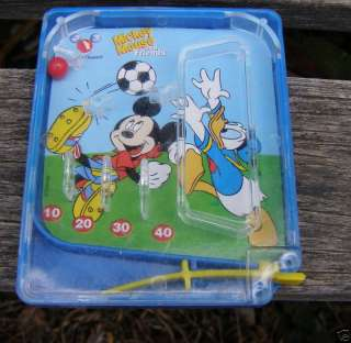 McDONALDS MICKEY MOUSE DONALD DUCK SOCCER BALL GAME
