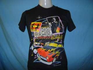 vintage BUDDY HOLLY ROCKIN 50S HOT ROD NWT t shirt YOUTH MEDIUM