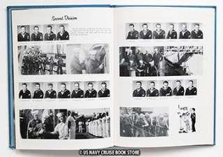 USS SELLERS DDG 11 MEDITERRANEAN CRUISE BOOK 1963