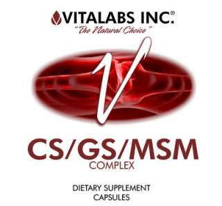 Vitalabs   CS / GS / MSM Complex   450 Capsules 4700 mg