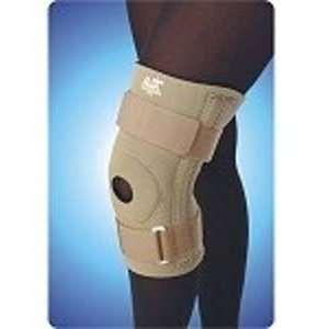 Neoprene Knee Brace Open Patella, Extra Large, Black