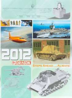 NEW! Dragon Models 2012 Dragon Model Kits Catalog CAT2012 NIB