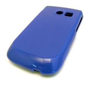 Samsung R375c Straight Talk Glossy Blue Solid HARD CASE