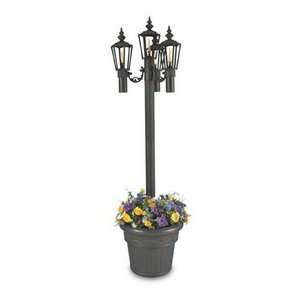 Living Concepts Islander Park Style Citronella Four Flame Outdoor