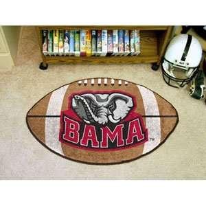Alabama Crimson Tide NCAA Football Floor Mat (22x35)