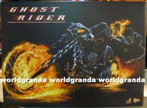 Hot Toys Marvel Movie GHOST RIDER 12 Figure Hellcycle |