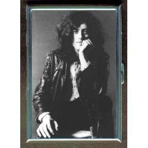 JIMMY PAGE OF LED ZEPPELIN ID CIGARETTE CASE WALLET