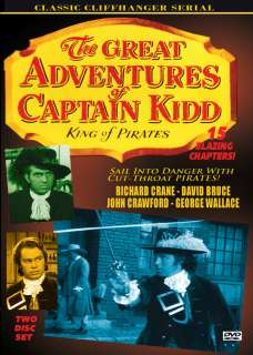 GREAT ADVENTURES OF CAPTAIN KIDD CLIFFHANGER SERIAL 1953 DVD