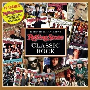 Rolling Stone   Classic Rock 2011 Wall Calendar Books