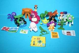 Disney Complete 16 set TOY STORY 3 mini figures Europe