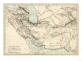 Map of the Ancient Persian Empire Giclee Print at AllPosters
