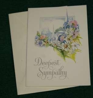 Greeting Card   Deepest Sympathy