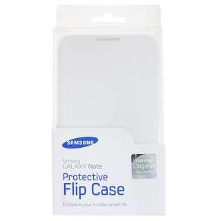 White OEM Samsung Galaxy Note AT&T i717 N7000 Flip Cover Case EFC