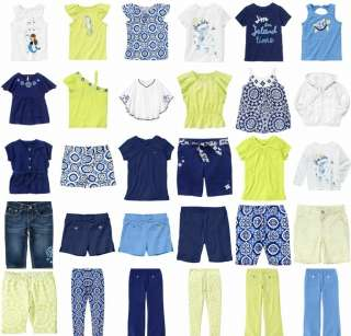 NWTS GYMBOREE GREEK ISLE STYLE GIRLS SUMMER CLOTHES UPICK 3 4 5 6 7 8