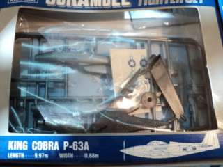 ARII SCRAMBLE SKY FIGHTER SET 6 WW2 FIGHTER AIRCRAFT BOXED MODEL KIT