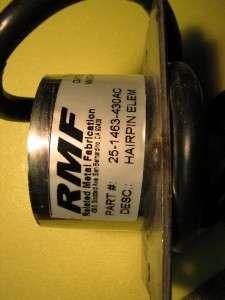 kw hot spring, watkins heating element hairpin type